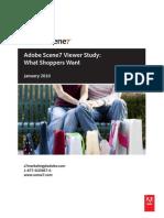 Adobe Scene7 Viewer Study