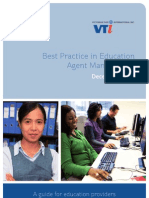 VTI Best Practice in Education Agent Management