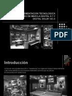 Diseño e Implementacion Tecnologica para un Estudio de Mezcla Digital 5.1