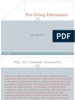 Tips on Group Discussion