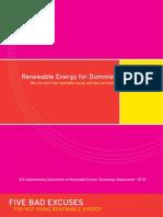 Renewable Energy for Dummies