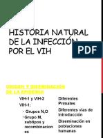 Historia Natural de la Infección por el VIH