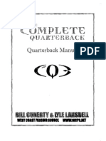 West Coast Academy QB Manual