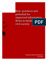 Best Practices and Potential - Sri Lanka