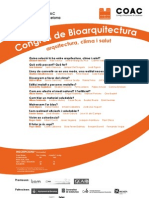 Bioarquitectura Mediterránea 2011 - Presentación