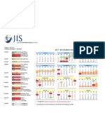 JIS Calendar 2011-12