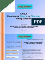 Módulo Académico en los cursos en línea