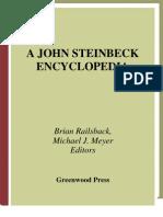 A John Steinbeck Encyclopedia