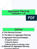 (Aggregate Planning)