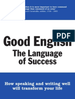 Good English - The Language of Success