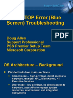 Blue Screen of Death Troubleshooting Tips