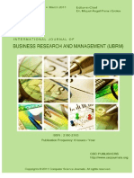 International Journal of Business Research and Management (IJBRM) Volume (2) Issue (1)