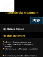 Acute Stroke Treatment