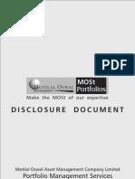 MOAMC PMS Disclosure Document 7.11.10