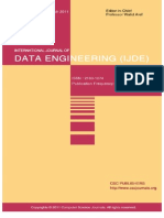 International Journal of Data Engineering (IJDE) Volume 2 Issue 1