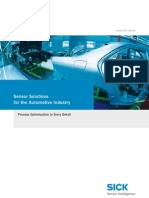 Sensor Solutions for the Automotive Industry[1]