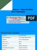 Healthinsurance,Oppurtunities & Challenges