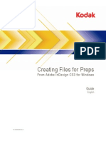 Creating Files for Preps From InDesign CS3 (Windows)