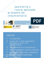 Ergonomia Aplicada Disenyo Indumentaria Militar IBV