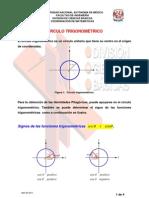 Circulo trigonometrico