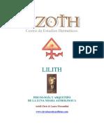 Lilith Origen y Significado