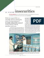 Frontline Food In Securities 2010
