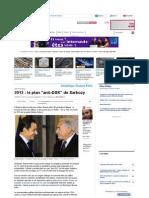 Le Post  2012 Le Plan Anti-DSK de Sarkozy