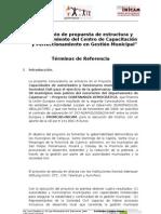 TDR Gestión 20Municipal