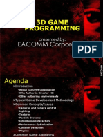 EACOMM-Introduction to 3d Game Programming
