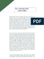 Salvador Dali Biography