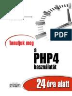PHP4 24 óra alatt