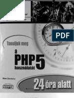 PHP5 24 óra alatt