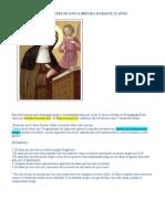 07 Oraciones para 12 años de Santa Brígida