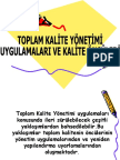 Toplam Kalite Yonetimi Ve Kalite Onculeri 4 Bolum