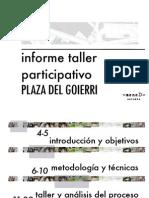 Informe Toki Plaza Goierri
