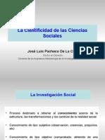 La Cientificidad de las Ciencias Sociales