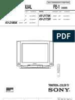 Tv Sony Kv-21t5k