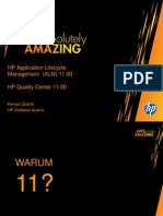 HP ALM Features