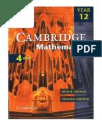 Cambridge 4u Textbook