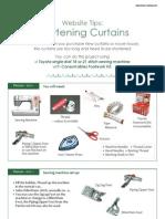 Shortening Curtain GB