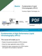 Fundamentals of HPLC