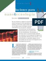 TECNOLOGIA de Concreto Con Nanotec