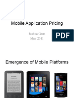Mobile Application Pricing (Presentation)