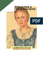 René Binet  Contribución A Una Ética Racista