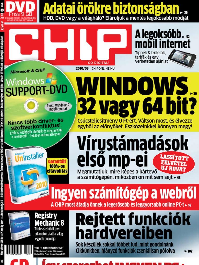 szuper olcsó promóciós kód USA olcsó eladó CHIP 2010 03