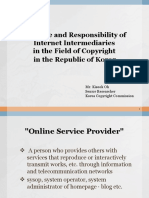 Oh_The Role and Responsibility of Internet Intermediaries in the Field of Copyright in the Republic of Korea