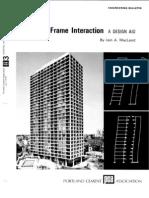 Shear Wall-Frame Interaction-A DESIGN AID