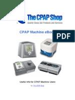 The CPAP Shop - CPAP Machine Ebook
