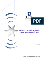 Politica Wireless UCS