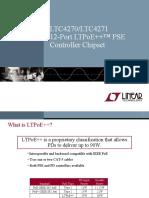LTC4270-71 - 12-Port PoE/PoE+/LTPoE++ PSE Controller